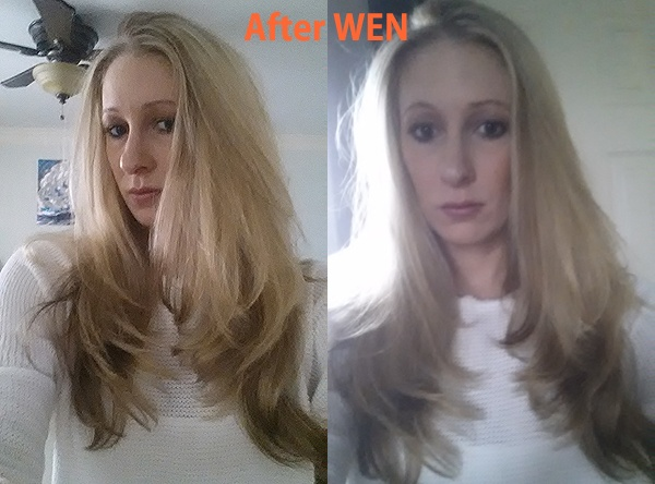 After Pictures of Wen Hair Care